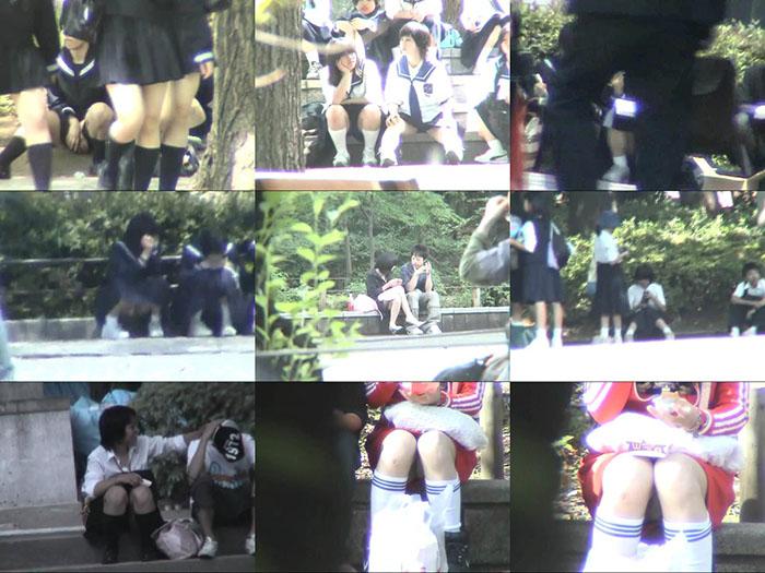 スカートの中へZOOOOOM IN!! Vol.06-09