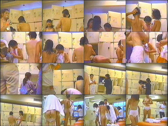 美少女達の熱湯!お風呂場最前線 9-10