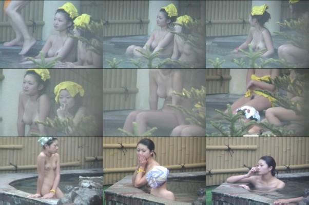 Aquaな露天風呂Vol.95-107