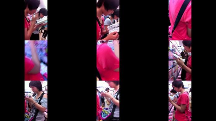 ブルーノ J○胸チラ 002