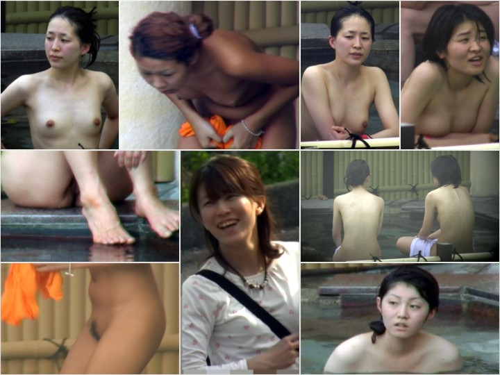 Aquaな露天風呂 Vol.578-584