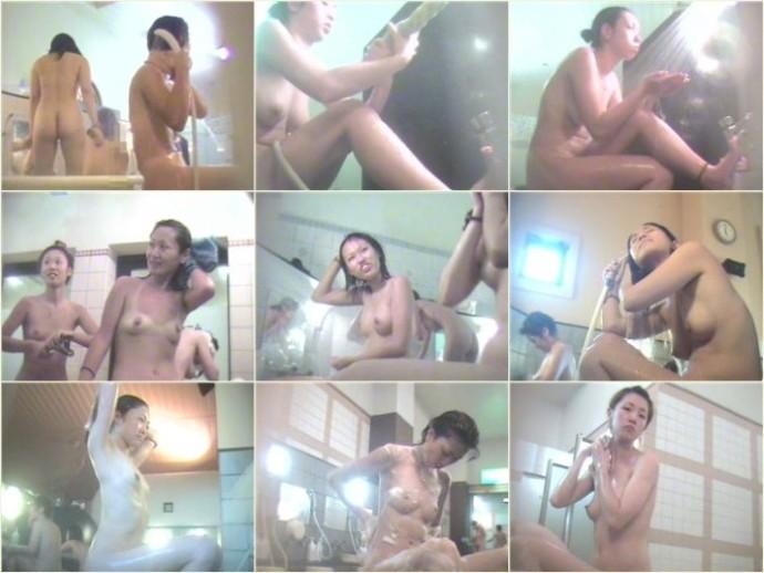 盗撮 女風呂 舞い降りた天女達 洗い場編 Vol.06-10