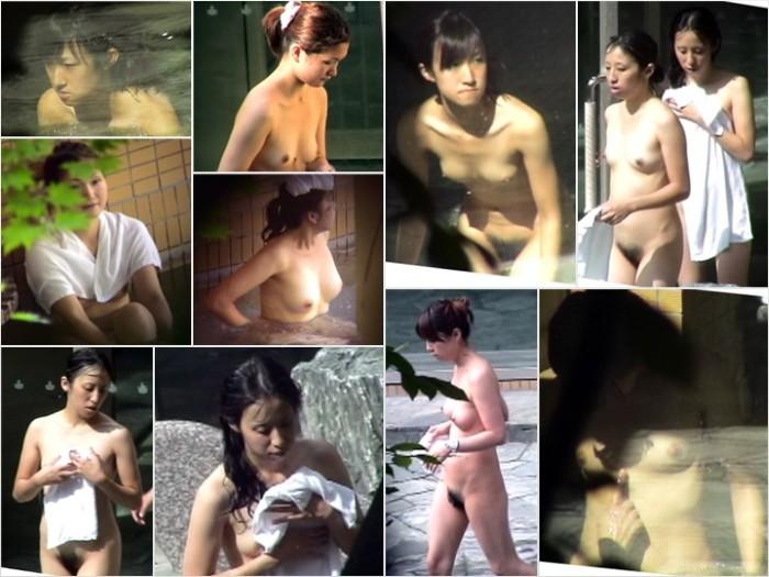 Aquaな露天風呂Vol.704