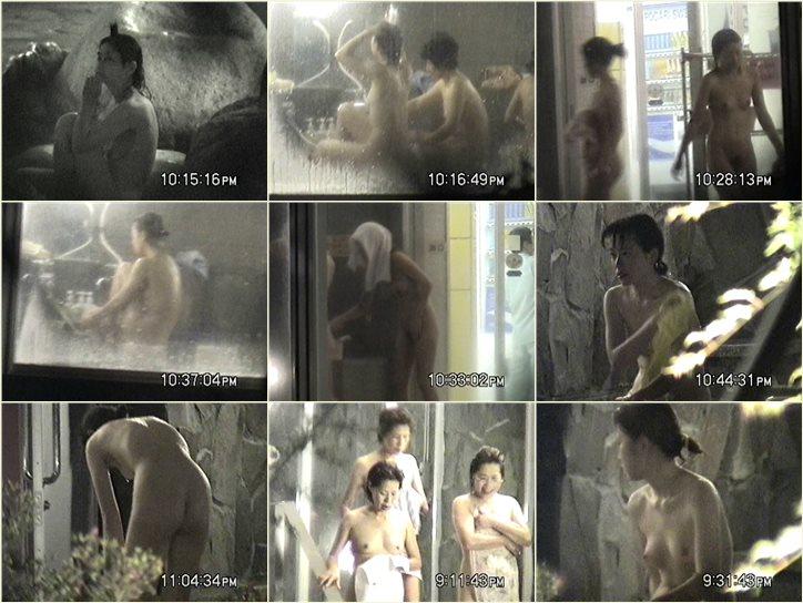 次郎さんの 夏夜の露天は大賑わい Vol.02 Peeping-eyes bath TO-5898
