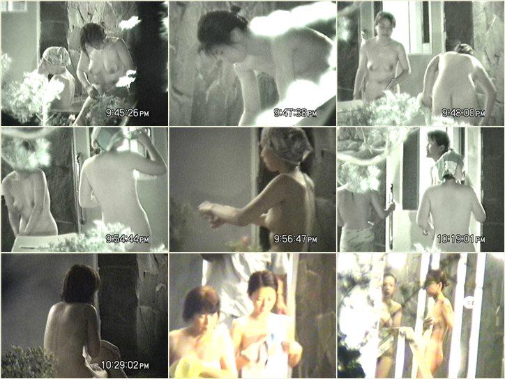 次郎さんの 夏夜の露天は大賑わい Vol.03 Peeping-eyes bath TO-5899