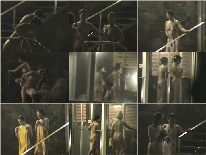 次郎さんの 夏夜の露天は大賑わい Vol.05 Peeping-eyes bath TO-5901