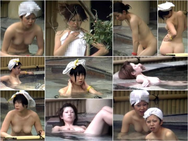 Aquaな露天風呂Vol.766-772