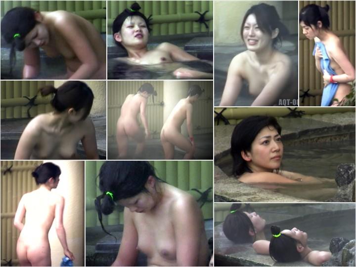 Aquaな露天風呂Vol.773-777