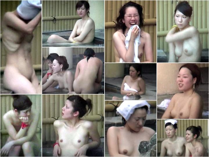 Aquaな露天風呂Vol.876-878