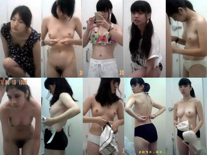 りある。トイレで私服に着替える制服の女子高生
