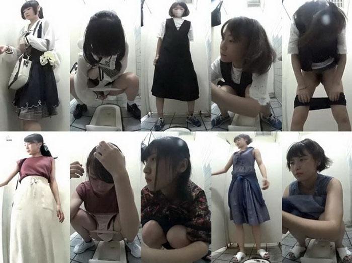 海の和式トイレを撮ってみた12海にオタサー姫ちゃんが迷い込んだ!