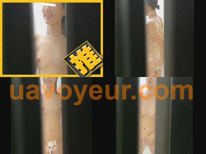 【リアルインパクト盗SATU〜入浴編〜】シャワー中に踊り出すスタイル良し薄毛女子